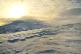 снежные волны...