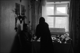 Трапеза в монастырской квартире