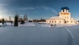 Сельский храм.