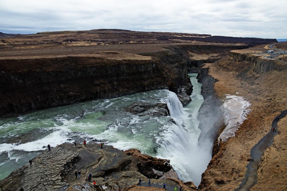 Водопад Гутльфосс, Исландия