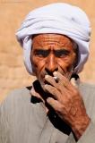 Синайский бедуин.