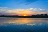 Закат на реке Кирпили