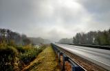 Туман над трассой
