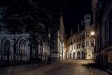 Ночью,в тихих улочках Риги.....