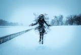 Снежная левитация.