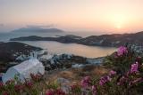 Закат на острове Иос, Киклады