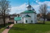 Никольский собор в Изборской крепости.