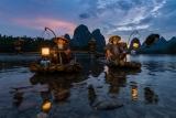 Один из вечеров на китайской реке.