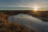 Осенний восход на Топорке.