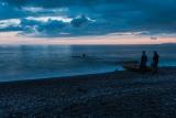 Вечерний выход в море.