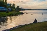 Петрозаводск.На вечерней рыбалке.