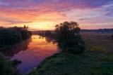Рассвет на речке Вороне