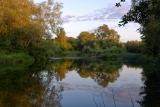 Вечер на речке Вороне