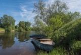 Майским днём на реке Дубне.