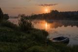 Июньское утро на реке Дубне.