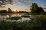 Восход на реке Дубне.