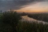 Сентябрьское утро на речке.
