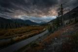 Канадской осени вечерняя палитра