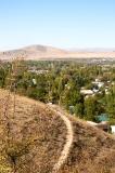 Село в горной местности