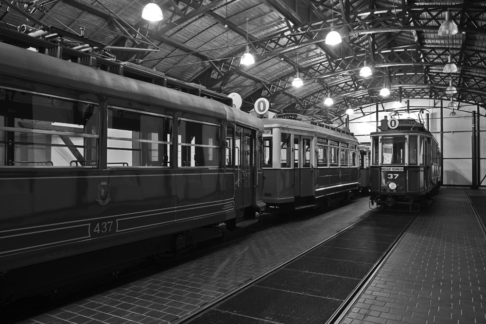 Старый краковский трамвай