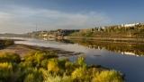 Осеннее утро над Вяткой-рекой