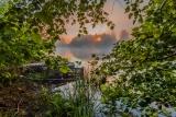 Туманное,июньское утро на реке.