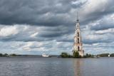 Калязин.Колокольня Никольского собора.
