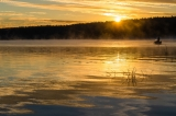 Рыбалка на восходе.