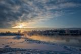 Рассвет на реке Великой