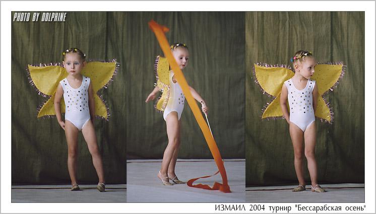 Детская гимнастика.  24.2.2009, Злата Грайбер.  Физическое развитие.